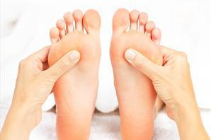 Reflexology feet
